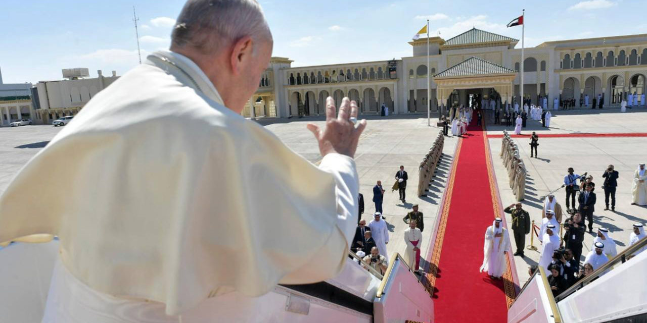 Pope ends historic UAE visit