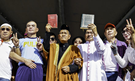 Christians, Muslims join solidarity walk