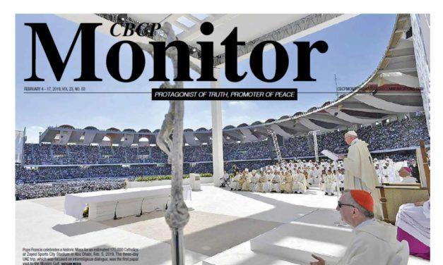 CBCP Monitor Vol 23 No 3