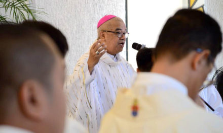 Bishop wary of martial law in Negros