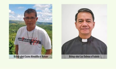 Pope names 2 new Filipino bishops