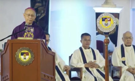 Archbishop urges graduates to bring change as poll nears