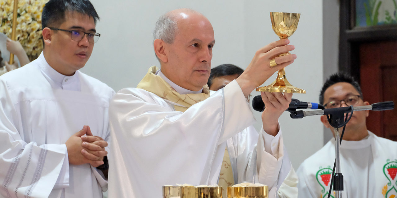 Nuncio: See Christ in those who are suffering