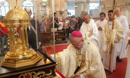 Cebu welcomes heart relic of St. Camillus