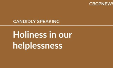 Holiness in our helplessness