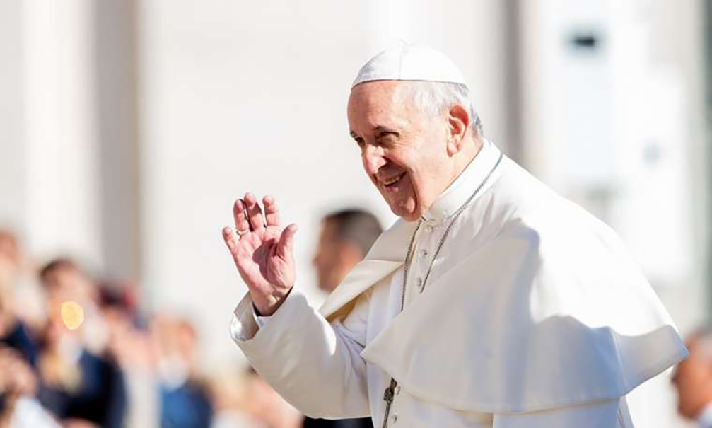 When correcting others, remember one's own faults, pope says