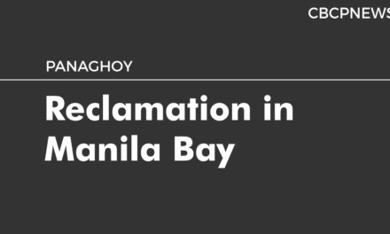 Reclamation in Manila Bay