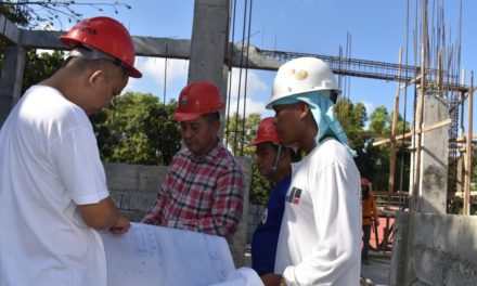 Construction of clergy home in Puerto Princesa underway