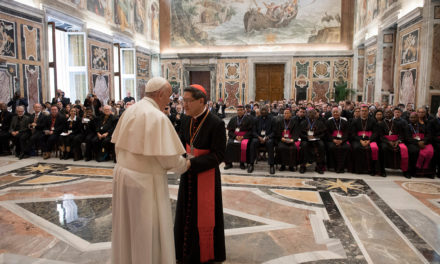 Word of God must be 'beating heart' of church, pope says