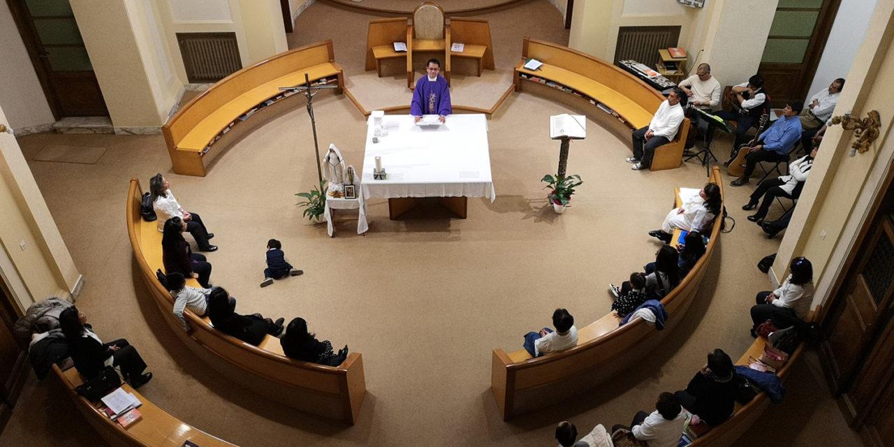 Bishop-elect Dalmao bids farewell to Filipinos in Rome
