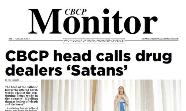CBCP Monitor Vol 23 No 7