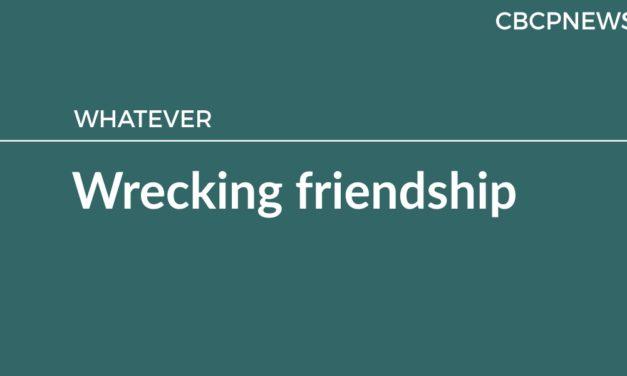 Wrecking friendship