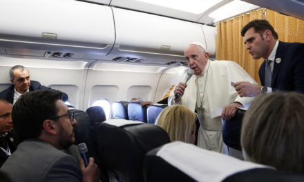 Pope says study on women deacons was inconclusive