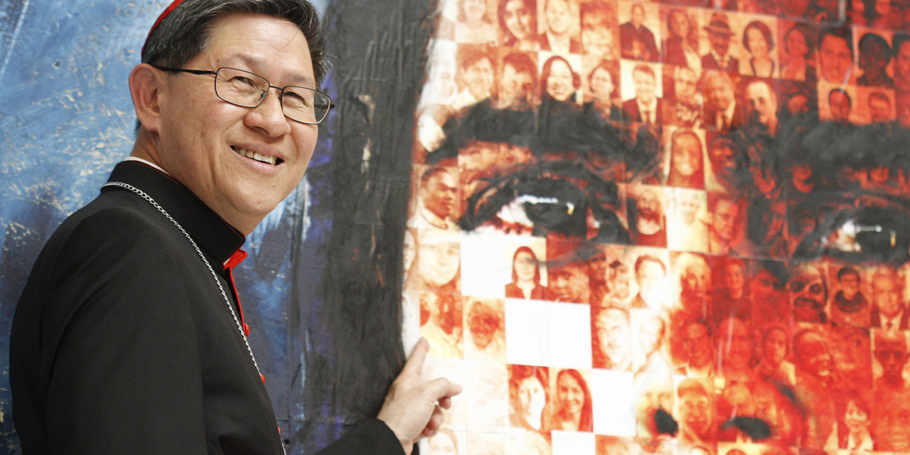 Family portraits, mutual support part of Caritas global assembly