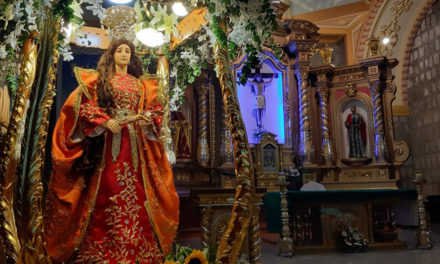 "Pililla Shrine holds first ""indakan"" in honor of patroness"