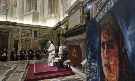 Make charity more of an encounter, less of a 'service,' Pope Francis says