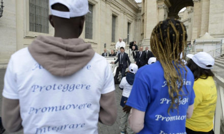 Migrants are a foil to growing 'globalization of indifference,' pope says
