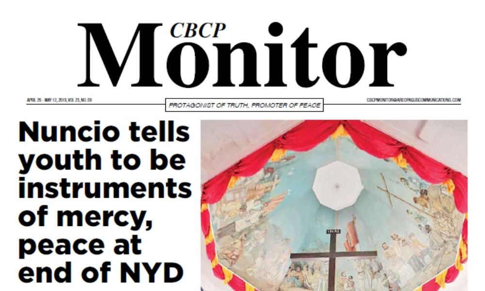CBCP Monitor Vol 23 No 9