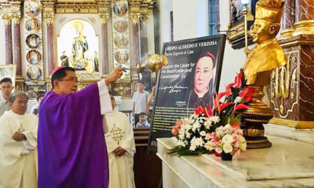 Servant of God Alfredo Verzosa remembered  on 65th anniversary of his death