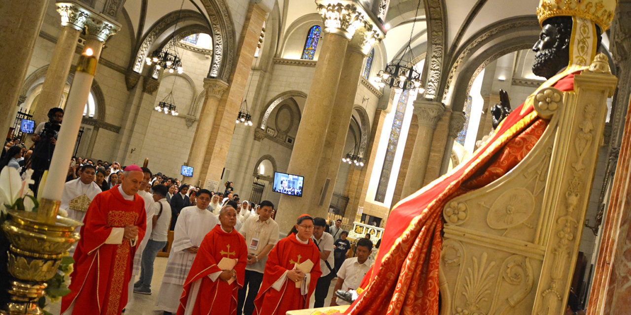 Cardinal Tagle urges openness to God on Pope's Day