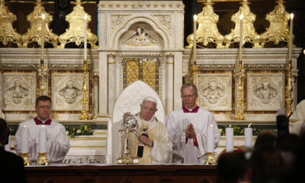 At Mass, Pope Francis remembers 'hopeful' witness of Romanian Catholics