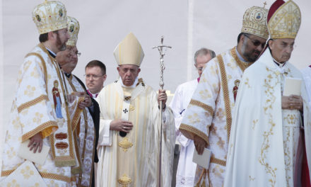 Freedom, mercy are lasting legacy of martyred bishops, pope says