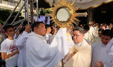 Cardinal Tagle rebukes Catholics who don't do good deeds