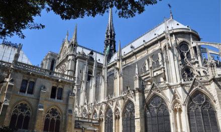 'Near twin' of Notre Dame clock found in storage