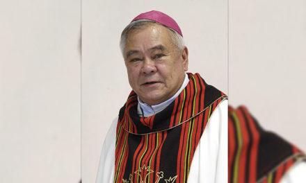 Former Baguio Bishop Cenzon dies at 80