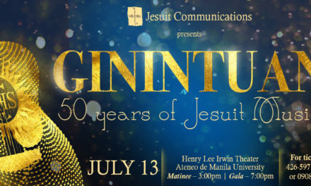 "JesCom, JMM pay tribute to Jesuit Music with ""Ginintuan"""