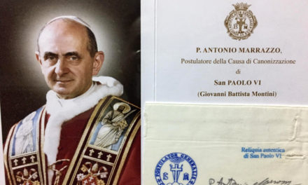 St. Paul VI relic up for veneration on June 29