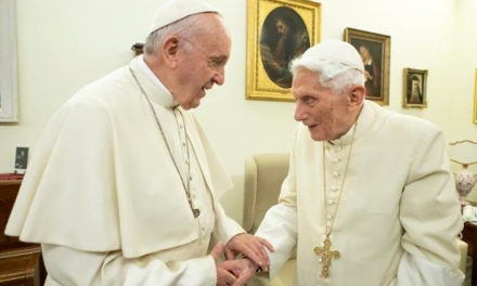 Benedict XVI: The Church's unity is stronger than internal conflicts