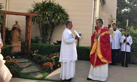 First in US, California parish enshrines Blessed Takayama statue