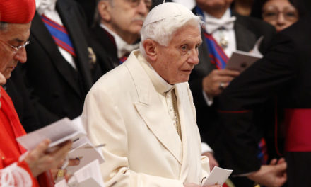Pope Benedict visits hill town outside of Rome for walk, dinner