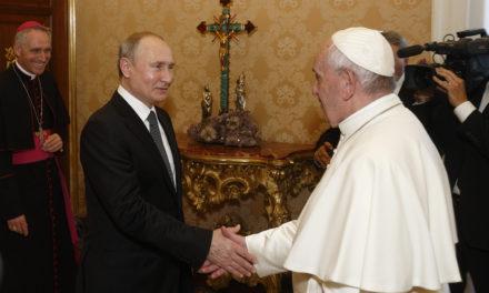 Pope meets Putin; two leaders talk about Ukraine, Syria, Venezuela