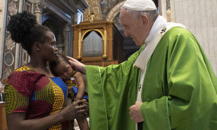 Migrants are people, not just a social issue, pope says at Mass