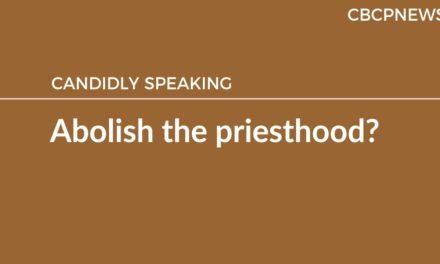 Abolish the priesthood?