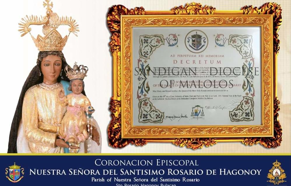Hagonoy Marian image to be episcopally crowned
