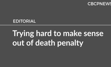 Trying hard to make sense out of death penalty