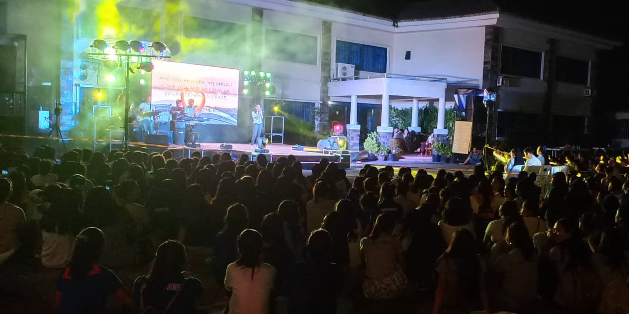 Concert brings youth together to worship, celebrate