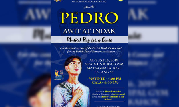 St. Pedro Calungsod musical heading to Batangas