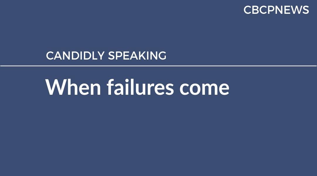When failures come