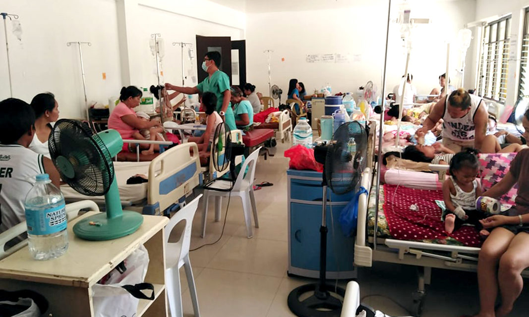 Church issues prayer against dengue, leptospirosis