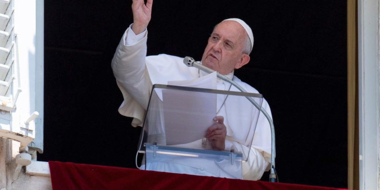 Pope Francis: War is always a loss for all humanity