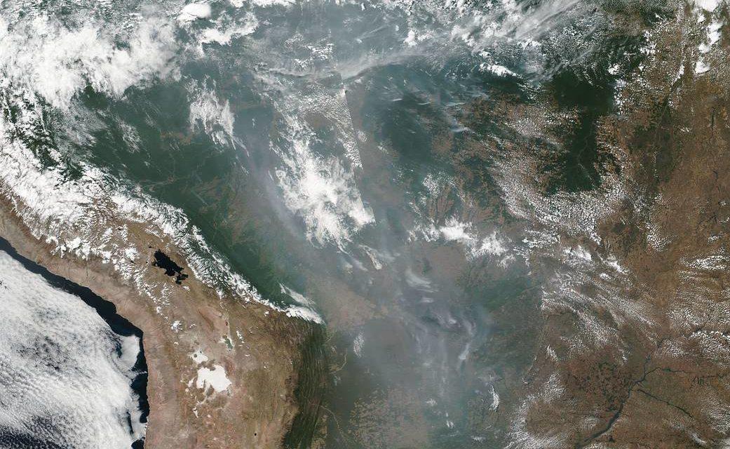 Pope, bishops urge action to save burning Amazon rainforest