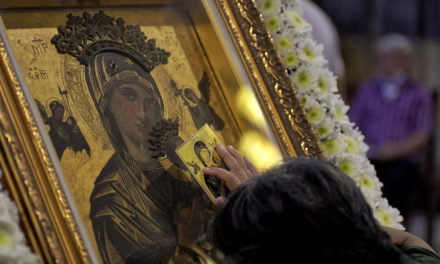 Baclaran Church temporarily removes Our Mother of Perpetual Help icon from altar
