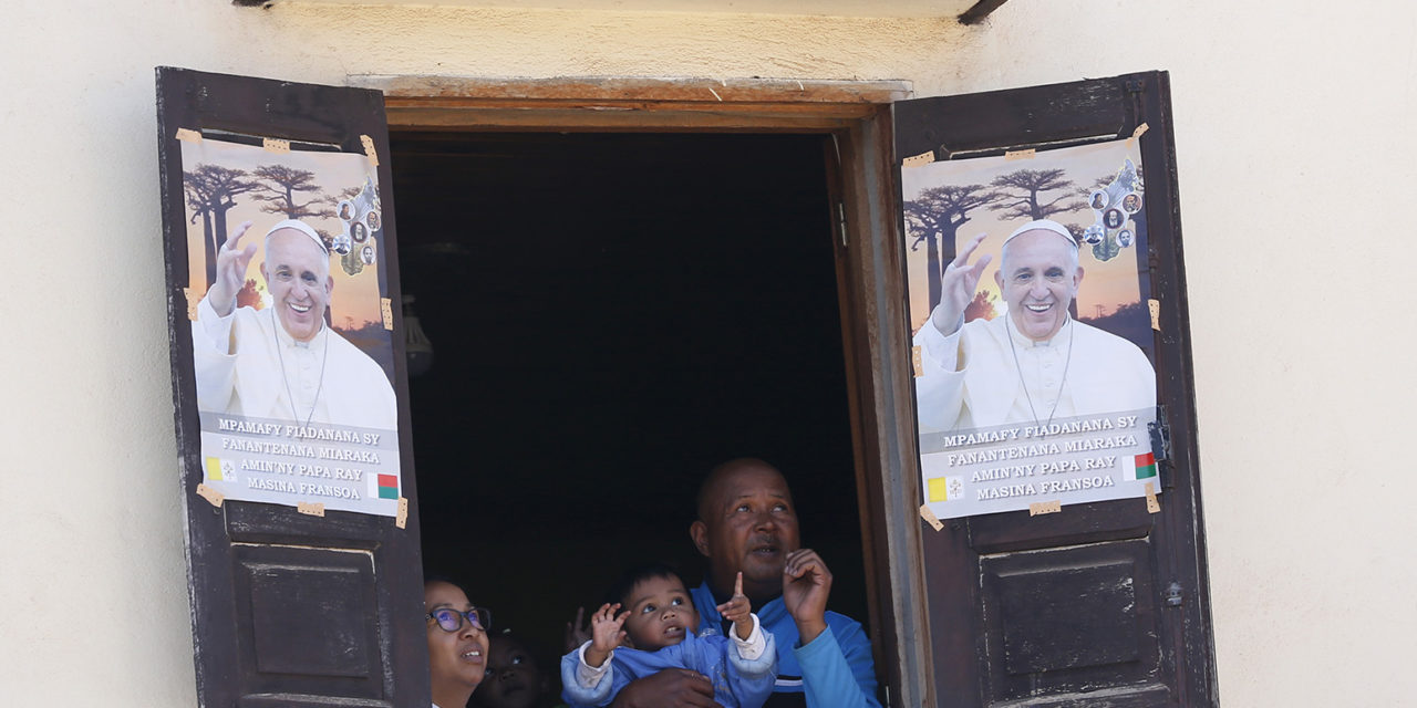 Help the poor, protect the environment, pope says in Madagascar