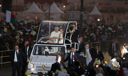 Change the world, don't just gripe about it, pope tells young people