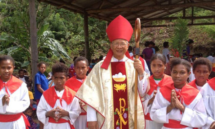 PNG court drops cyber libel case vs Filipino bishop