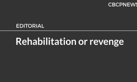 Rehabilitation or revenge